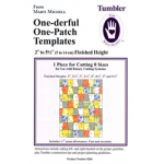 "One-derful One-Patch Template 2"" to 5,5""  8204"