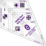 Multi-Size Kite Ruler 8158